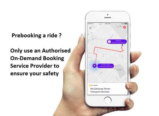 On Demand Booking Service Authorised Provider
