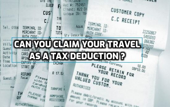 Invoices as tax deduction